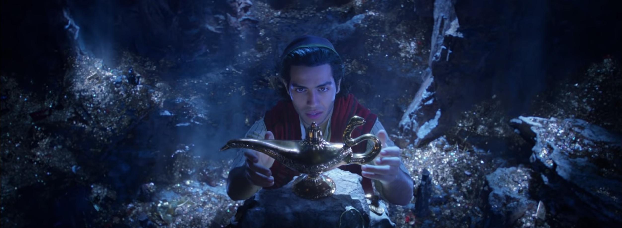 Nya teasern till Aladdin (2019) ger rysningar
